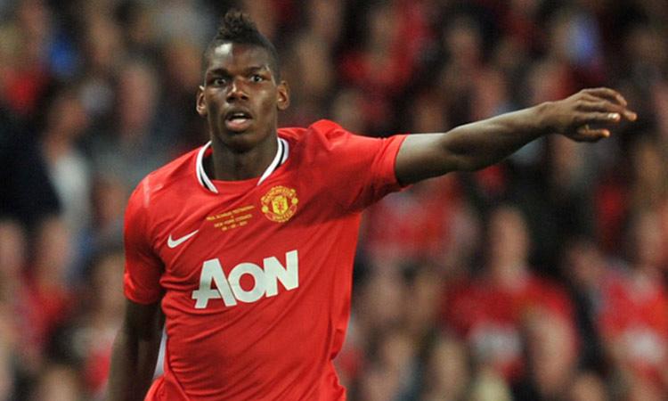 Manchester United resign pogba